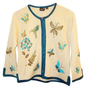 CoVelo Butterflies Hummingbird Cardigan