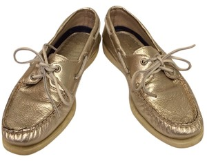 Sperry Top-Sider Gold Flats