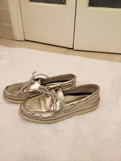 Sperry Gold Flats