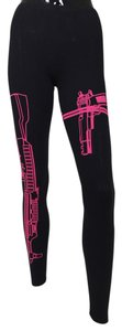 Other Guns Black, Pink Leggings
