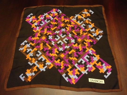 Givenchy Givenchy Geometric Handkerchief Scarf