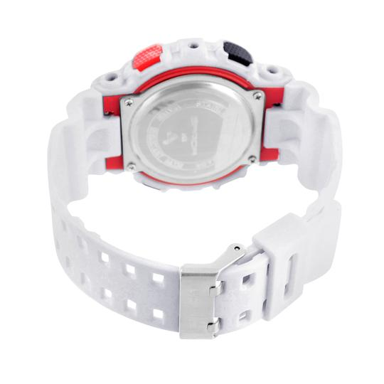 Other Red White Shock Resistant Watch Mens Sports Look Outdoors Digital-Analog On Sale