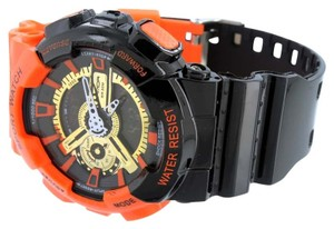 Other Mens Shock Resistant Watches Orange Black Analog-Digital Alarm Special Edition