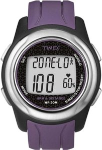 Timex Timex Womens Full-Size T5K561 Health Touch Heart Rate Monitor Watch