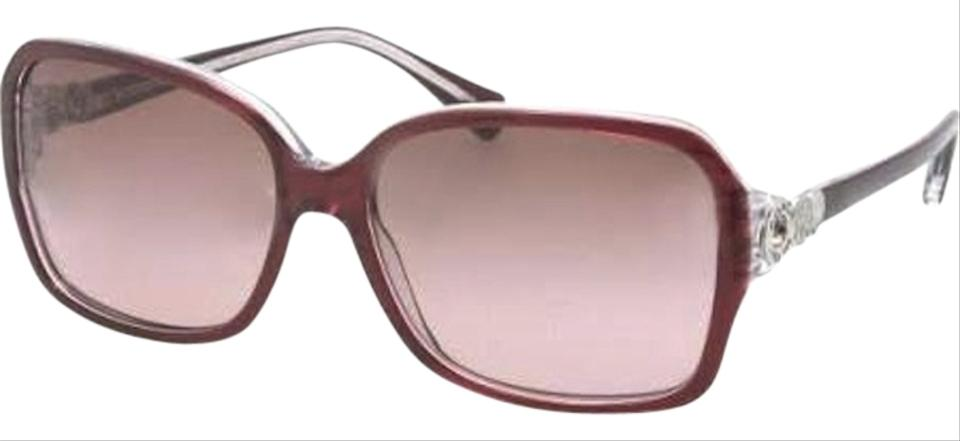 08f52211b9203 Coach Burgundy Crystal Burgundy Crystal Women s Sunglasses - Tradesy
