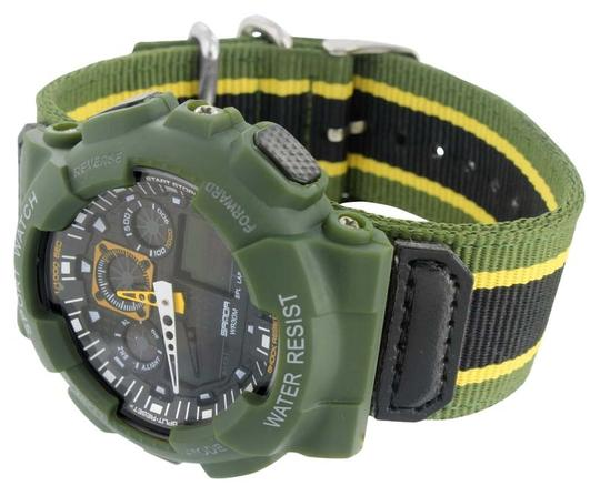 Preload https://img-static.tradesy.com/item/8978866/green-shock-resistant-mens-army-sports-wrist-gift-digital-analog-new-watch-0-1-540-540.jpg