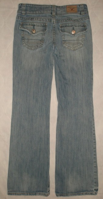 American Eagle Outfitters Boyfriend Cut Jeans-Light Wash