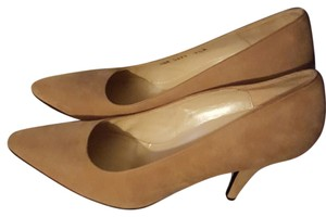 Charles Jourdan beige -tan Pumps