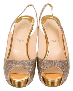 Christian Louboutin Muti Color Glitter Pumps