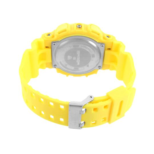 Other Yellow Shock Resistant Sports Watch Digital-Analog Water Resistant Mens Unique