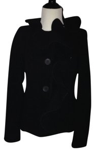 Rinascimento Warm Career Office Night Out Date Night Cocktail Casual Dress Up BLACK Blazer