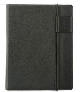 Raindrop Splash Genuine Leather Black Ipad Case from Raindrop Splash with stylus attached!!