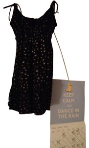 Mossimo short dress Black/Stars on Tradesy
