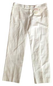 Chloé Chloe Designer White New Trouser Pants White/ Chalk