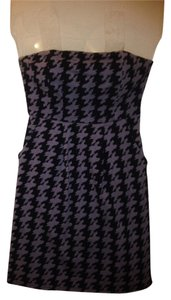 Silence + Noise short dress Purple, Black on Tradesy