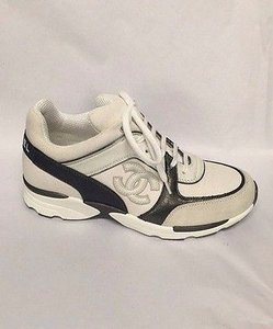 Chanel Trainer Sneakers White Athletic