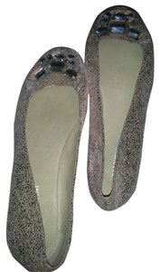 Gianni Bini Light Metallic Pink Flats