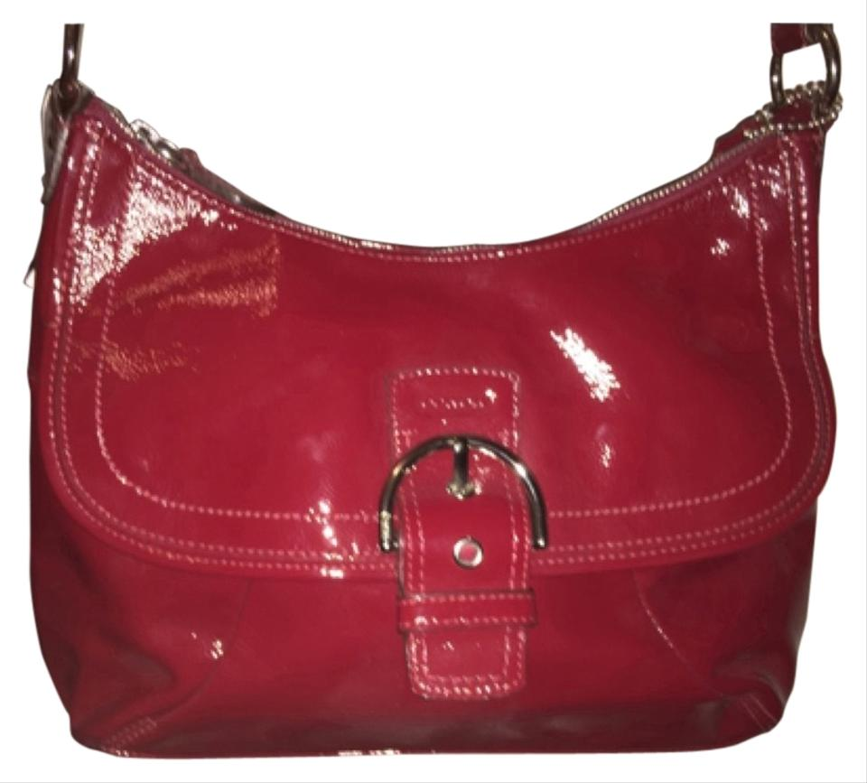 Product Features Black leather sides and base with red leathe rpoppy appliqued on top.