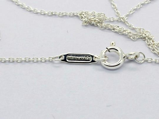 Tiffany & Co. TIFFANY & CO STERLING SILVER 1999 HEART PENDANT NECKLACE, 18in