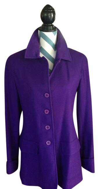 Bloomingdale's Button Down Shirt Purple