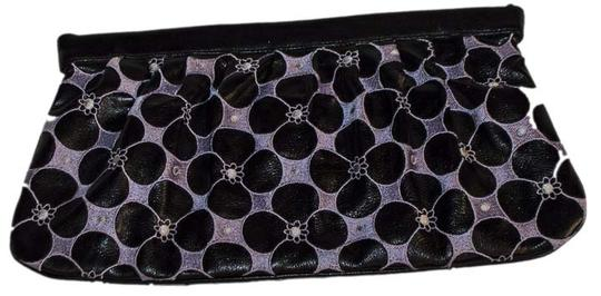 Garrigue & Jarossay Leather Lavender / Black Clutch