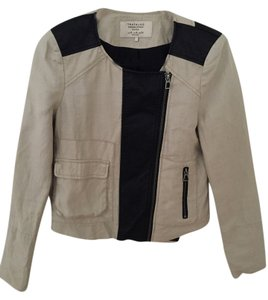 Zara Beige/Black Jacket