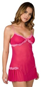 Cosabella short dress Fuchsia Chemise Sheer Tulle on Tradesy