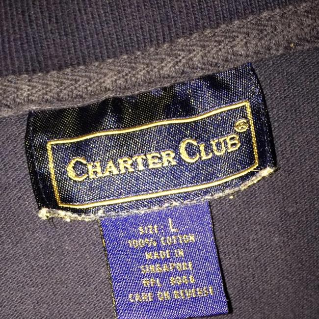 Charter Club Top Navy
