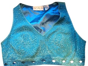 Scala Top Blue
