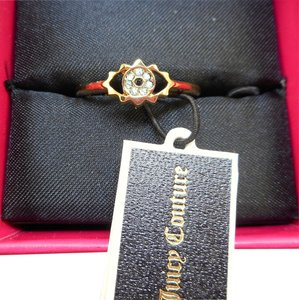 Juicy Couture Juicy Couture Pave Eye Ring - Size 8