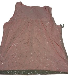 New York & Company Top pink/silver