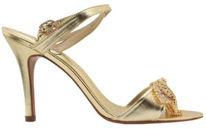 MS Shoe Designs Gold Formal