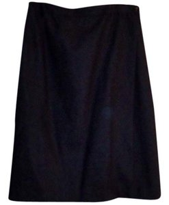 Evan Picone Wool Skirt charcoal