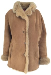 Gallery Suede Machine Washable Fur Coat