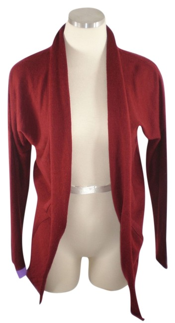 Preload https://item2.tradesy.com/images/fenn-wright-manson-red-cinched-cardigan-size-12-l-8984701-0-2.jpg?width=400&height=650