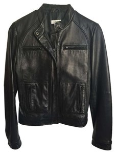 Calvin Klein Leather Leather Jacket