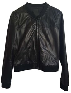 Trouvé Trouve Leather Leather Jacket