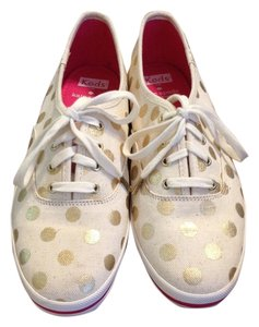 Kate Spade Cream/Gold Athletic