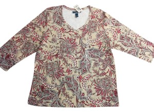 Karen Scott Top Multi-color