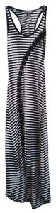 Black White Striped Maxi Dress by Hot Topic