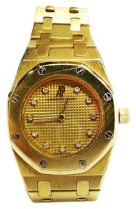 Audemars Piguet Audemars Piguet Quartz 18 Karat Yellow Gold Royal Oak Watch