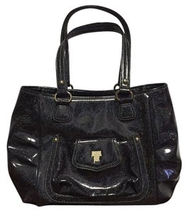 Anna Sui Tote in black with Sparkle