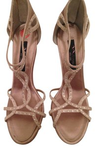 Nina Shoes Gold Formal