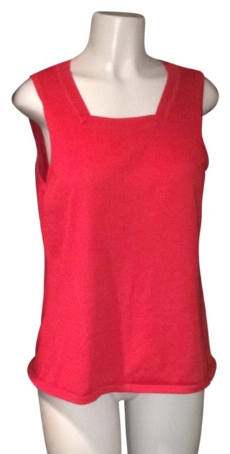 Denim & Co. Top Red