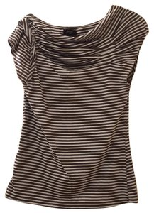 Anthropologie Top Grayish stripe