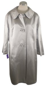 Escada Statement Silk Opera Trench Coat