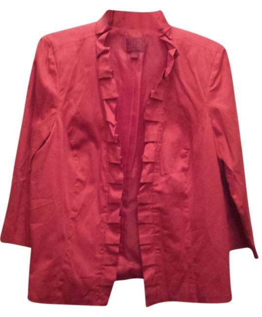212 Collection Red Blazer