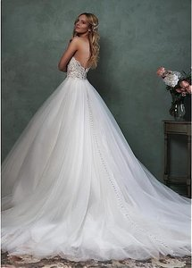 Chic Sweetheart Neckline Ball Gown Wedding Dress