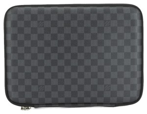 Louis Vuitton Louis Vuitton Damier Graphite Laptop Sleeve PM Briefcase (Authentic Pre Owned)