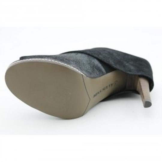 Miss Sixty Grey/tan Mules